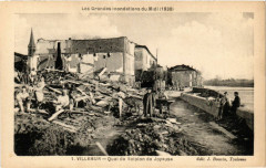 Villemur Quai de Scipion de Joyeuse - Villemur