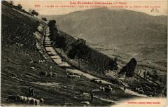 Vallée de l'Arboust Descente de la Route vers Luchon - Luc