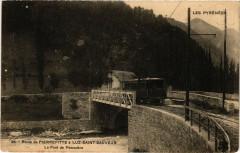 Luz Saint-Sauveur Route de Pierrefitte-Pont de Pescadere - Luz-Saint-Sauveur