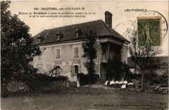 Barthes Maison ou Bernadette a passe les premieres années de savie - Barthe