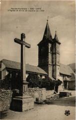 Aste Eglise et Croix en marbre de 1790 - Asté