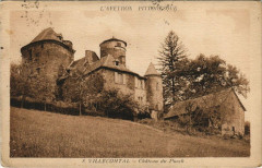 Villecomtal - Chateau du Puech - Villecomtal