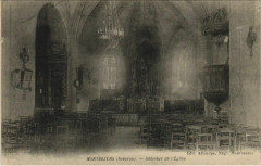 Montbazens - Interieur de l'Eglise - Montbazens