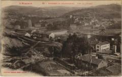 Cransac et Campagnac - Vue de l'Ouest - Cransac