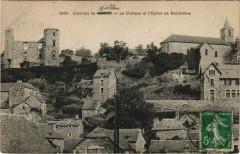 Le Chateau et l'Eglise de Bertholene - Bertholène