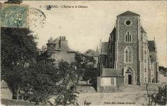 Cransac - L'Eglise et le Chateau - Cransac
