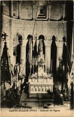 Sainte-Eulalie-D'Olt - Intérieur de L'Eglise - Sainte-Eulalie-d'Olt