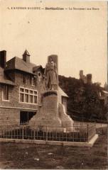 Bertholene - Le Monument aux Morts - Bertholène