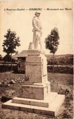 L'Aveyron Ilustre - Gabriac - Monument aux Morts - Gabriac