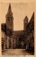 Villeneuve d'Aveyron - L'Eglise - Villeneuve