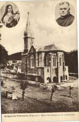 Saint-Igest-de-Villeneuve - Eglise Sainte-Thérése et son constructeur - Villeneuve