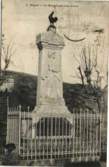 Ségur - Le Monument aux Morts - Ségur
