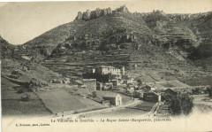 La Vallée de la Dourbie - La Roque Sainte-Marguerite panorama - La Roque-Sainte-Marguerite
