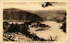 Le Lac de Sarrans Le Prequ'ile de Laussac France - Aussac