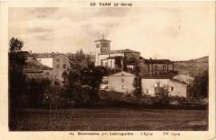 Le Tarn Escoussens pres Labruguiere - L'Eglise - Escoussens