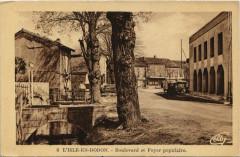 L'Isle-en-Dodon - Boulevard et Foyer populaire - L'Isle-en-Dodon