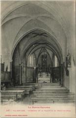 Valentine - Intérieur de la Chapelle du Bout-du-Puig - Valentine