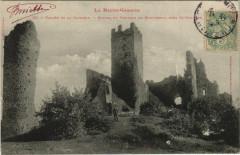 Vallée de la Garonne - Ruines du Chateau de Montespan - Montespan
