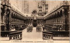 Saint-Bertrand-de-Comminges - La Cathédrale - Les Stalles - Saint-Bertrand-de-Comminges