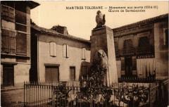 Martres Tolosane - Monument aux Morts (1914-18) CEuvre de - Martres-Tolosane
