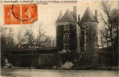 Haute-Garonne Saint-Martory La Garonne et le Chateau de Casvalhaés - Saint-Martory