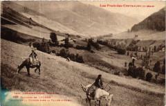 Env. de Luchon - Travaux de la Moissom dans la Vallée d'Oueil - Vaux