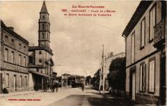 Castanet - Place de la L'Eglise et Route de Narbonne - Arbon