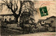 Eglise de Frechet pres Boussens Route d'Aurignac - Boussens