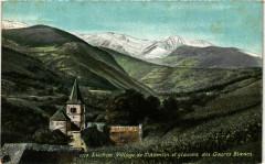 Luchon. Village de Saint-Aventin et glaciers des Gourcs Blancs - Saint-Aventin