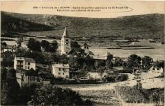 Env. de Luchon - Eglise et partie superieure de Saint-Aventin Excu - Saint-Aventin