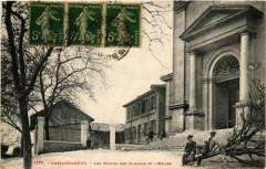 Cassagnebere - Les Ecoles des Garcons et l'Eglise - Cassagne