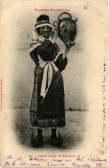 Jeune Femme de Bethmale - Bethmale