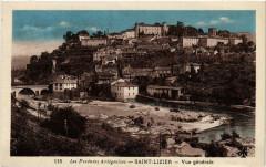 Saint-Lizier Vue Générale - Saint-Lizier