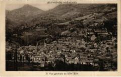 Sentein- vue generale France - Sentein