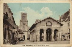 Gramat - Place de la Halle - Gramat