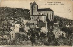 Le Lot Pittoresque - Saint-Cirq-Lapopie L'Eglise - Saint-Cirq-Lapopie