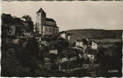 Le Lot Pittoresque - Saint-Cirq-Lapopie L'Eglise et les Vieilles - Saint-Cirq-Lapopie