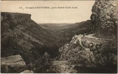 Gorges d'AUTOIRE, pres Saint-Cere - Saint-Céré