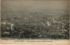 Saint-Cere - Vue generale prise de Saint-Laurent - Saint-Céré