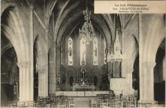Le Lot Pittoresque Lacapelle Marival Interieur de l'Eglise - Lacapelle-Marival