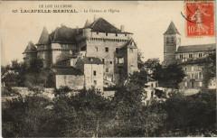 Le Lot Pittoresque Lacapelle Marival - Le Chateau et l'Eglise - Lacapelle-Marival