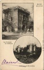 Le Lot Illustre Le Poterne du Chateau, Chateau de Montclera - Montcléra