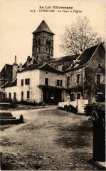 Le Lot Pittoresque - Livernon - La Place et l'Eglise - Livernon