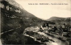 Vallée du Cele - Marcilhac - Vue de la route de Cajarc - Cajarc