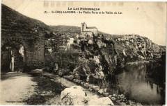 Saint-Cirq-Lapopie - La Vieille Porte et la Vallée du Lot - Saint-Cirq-Lapopie