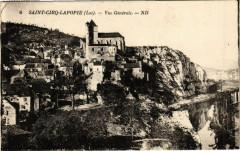 Saint-Cirq-Lapopie - Vue générale - Saint-Cirq-Lapopie