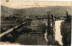Vallée du Lot-Cajarc-Vue générale - Cajarc