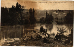 Au bord de la Dordogne a Copeyre-CIRQue de Montvalent-Lot - Montvalent