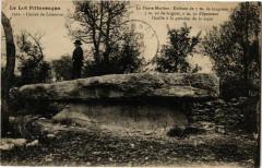 Le Lot...-Causse de Livernon - La Pierre MARTINe - Dolmen du 7m - Livernon