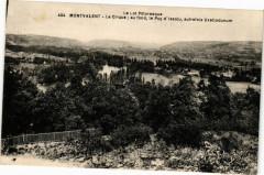 Le Lot Pittoresque Montvalent Le Cirque au fond le Puy d'Issolu - Montvalent
